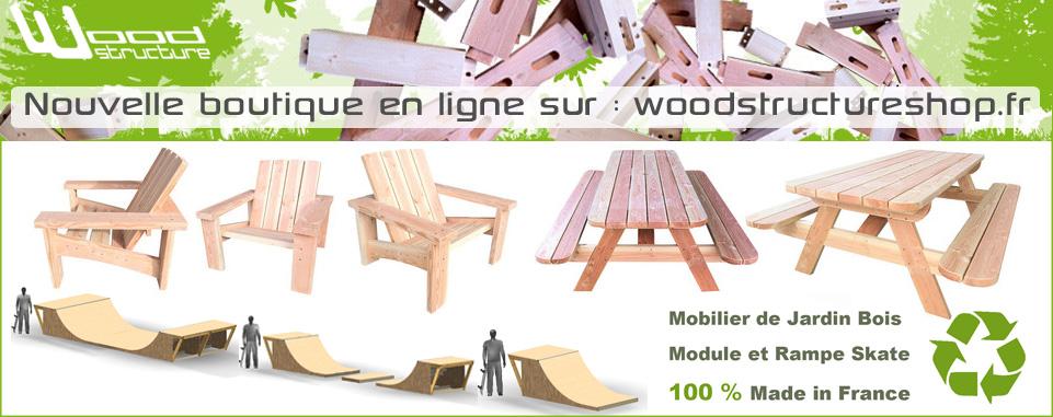 Pub woodstructureshop - WebEmc - Agence de communication numérique - Création de site internet et solutions e-commerce en Touraine et Val-de-Loire