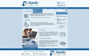 Site Argentis Finance - Comptabilité - Gestion