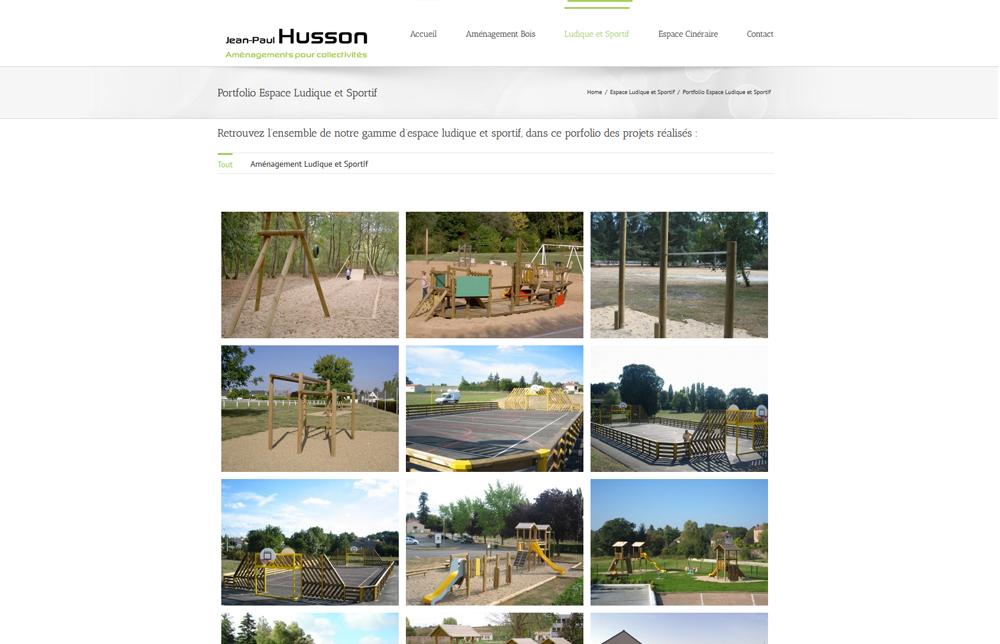 Jphusson Aménagement – WebEmc – Creation de site internet et solutions E-commerce en Indre-et-loire
