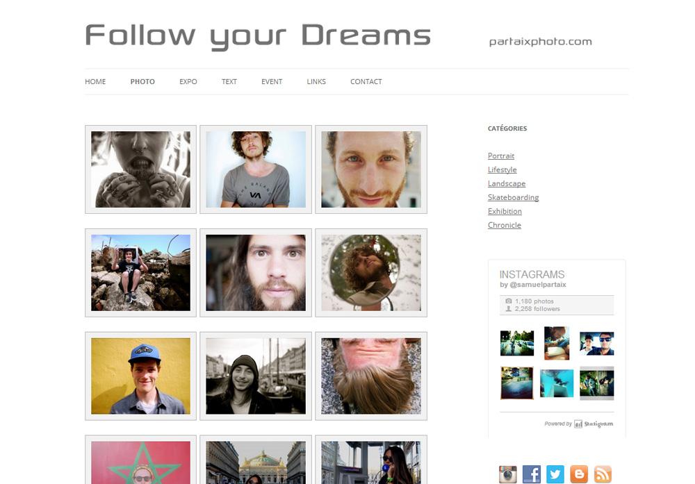 partaixphoto.com – follow your dreams