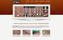 Rv Sports - Rv Tennis - Réalisation du site Internet WebEmc - Creation de site internet et solution e-commerce en indre-et-loire, touraine et val de loire.