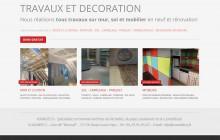 Vovadeco -Travaux de décoration intérieure - Mur - Plafond - Sol - Mobilier déco En neuf et rénovation - 37 - Indre-et-Loire - Richelieu